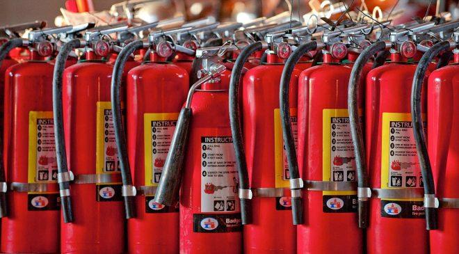 Trang bị đầy đủ các thiết bị phòng, chống cháy nổ