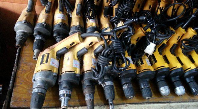 Những chiếc máy khoan cũ có thể là hàng nhái của các thương hiệu lớn