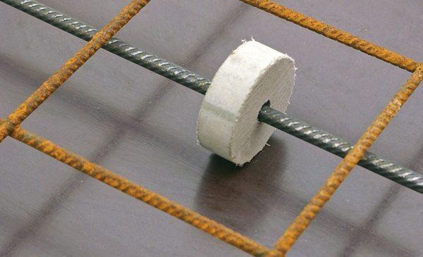 Con kê bê tông dĩa dùng cho những kết cấu hình trụ