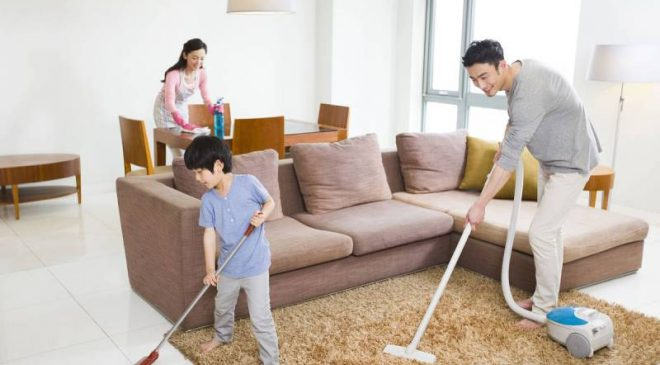 Lập kế hoạch dọn nhà giúp cho phân chia công việc cho phù hợp với từng người