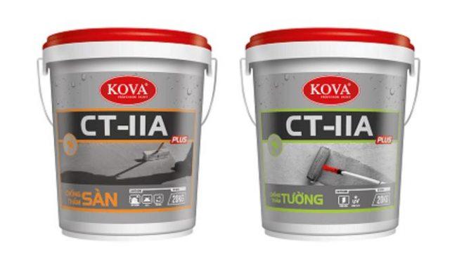 CT-11A Plus có thể thi công được cho các bề mặt có cấu trúc phức tạp