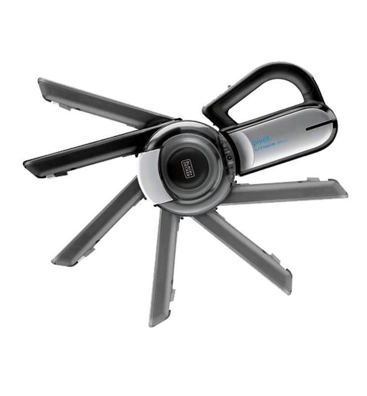 Black Decker 18V PV1820BK-B1 với vòi hút xoay 200 độ, dọn sạch mọi góc độ